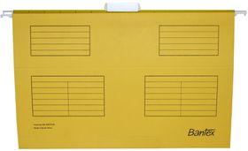 Bantex Suspension File Foolscap - Yellow (Pack of 25)