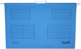 Bantex Suspension File Foolscap - Cobalt Blue (Pack of 25)