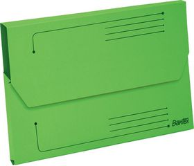 Bantex Smart Folder A4 Kraft - Grass Green (Pack of 10)