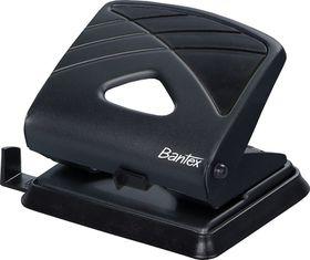 Bantex Office 2 Hole Metal Perforator - Black