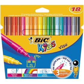 BIC Kids Visa 18 Felt Tip Pens