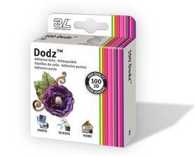 3L EZ Dodz 3D Clear Adhesive Dots - Large (Pack of 100 Dodz)