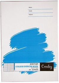 Croxley JD267 32 Page A4 Q&M Exercise Book (20 Pack)
