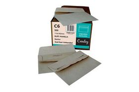 Croxley C6 Brown Seal Easi Unbanded (Kingstone) Envelopes (Box of 500)