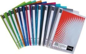 Croxley Presentation/Quotation Folder - Assorted Colours (12 Pack)