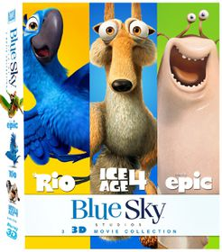 Blue Sky Collection: Rio / Ice Age 4 / Epic (Blu-ray)