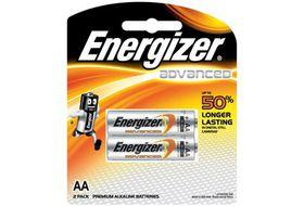 Energizer Advanced Alkaline AA Batteries