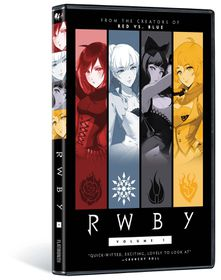 Rwby - (Region 1 Import DVD)