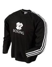 Mens adidas Full Sleeve Boxing Tee - Black