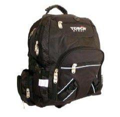 Tosca Large Laptop Backpack - Black/blue