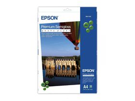 Epson S041332 Premium Semigloss A4 Photo Paper - 20 Sheets