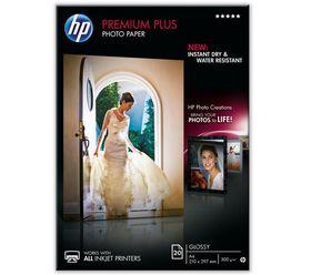 HP CR672A Premium Plus Glossy Photo Paper - A4