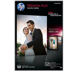 HP CR677A Premium Plus Glossy Photo Paper 10cm x 15cm - 25 sheets