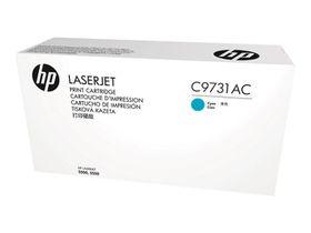 HP 645A LaserJet Print Cartridge - Cyan
