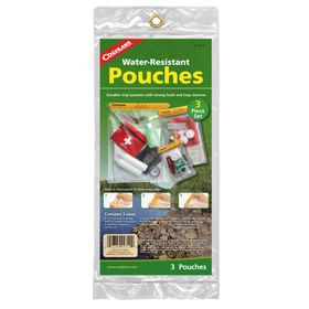 Coghlan's - Waterproof Pouch Set - Pack of 3