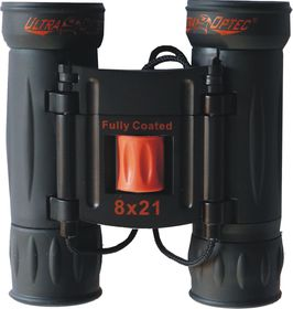 Ultraoptec 8x21 Encounter Compact Binoculars