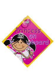 Jackflash - Baby On Board Sign - Princess