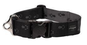 Rogz - Alpinist Big Foot Dog Collar - 2 x Extra-Large - 4cm Black