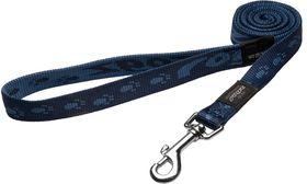 Rogz Large Alpinist K2 Fixed Dog Lead - 20mm Blue