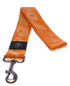 Rogz Alpinist Big Foot Fixed Dog Lead Extra-Extra Large - 40mm Orange