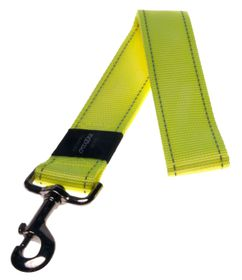 Rogz Utility Landing Strip Fixed Dog Lead Extra Extra Large - 40mm Yellow Reflective