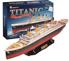 Cubic Fun Small Titanic - 35 Piece 3D Puzzle
