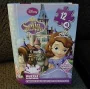 Disney 96 Piece Sofia the First Storybook Puzzle - Blue