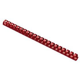 Parrot Plastic Binding Combs - 10mm - Red