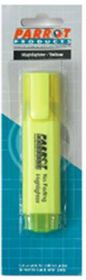 Parrot Highlighter Chisel Tip - Yellow