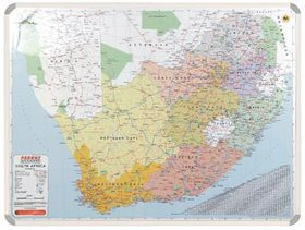 Parrot Educational Board Map South Africa 1230mm Magnetic White
