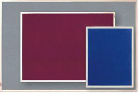 Parrot Info Board Plastic Frame 456mm - Burgundy