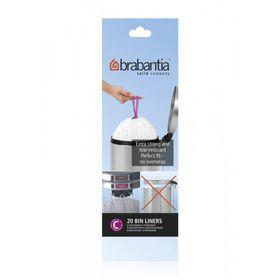 Brabantia - Bin Liner 12 Litre - Pack Of 20