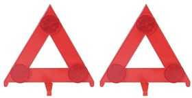 Moto-Quip - Universal Warning Triangles - Pair