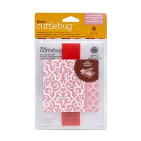 Cuttlebug Anna Griffin Embossing Folder & Border A2 - Quatrefoil