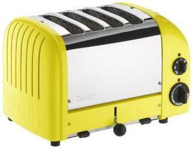 Dualit - 4 Slice Classic Toaster - Citrus Yellow