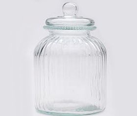 Maxwell and Williams Glass Candystore Canister - 3.8 Litre