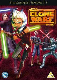 Star Wars - The Clone Wars: Seasons 1-5 (Import DVD)