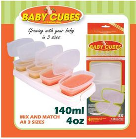 4aKid - Baby Cubes - 140ml