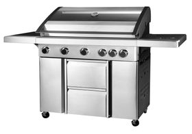 Alva - Apollo 5 BBQ Gas Burner - Stainless Steel