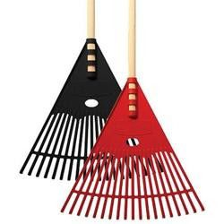 Lawn Star - Leaf Rake - Black Only
