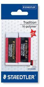 Staedtler Tradition Eraser - 2 Pack