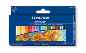Staedtler Noris Club Oil Pastels - 16 Pack