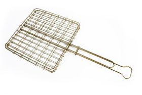 LK's - Small Box Grid - Stainless Steel