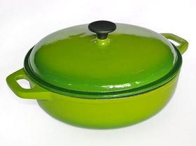 LK's - Round Casserole Dish - Green - 4L