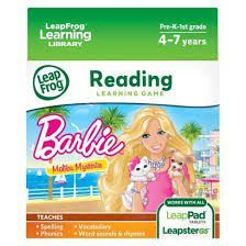 Leapfrog - Learning Game - Barbie Malibu Mysteries
