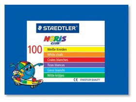 Staedtler White Chalk - 100 Pieces