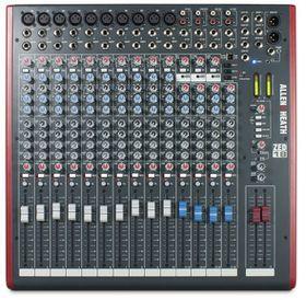 Allen & Heath ZED-18 Live Studio Mixer with USB Interface - Black