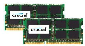 Crucial 16GB (2x 8GB) 1600MHz DDR3 SO-DIMM Memory