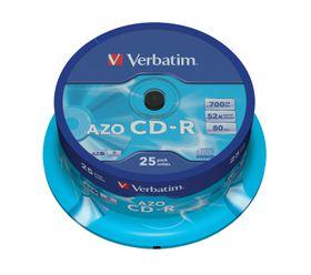 CD-R AZO Crystal - 25 Pack