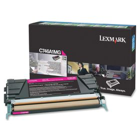 LEXMARK C746 / C748 Magenta Return Program Toner Cartridge - 7 000 pgs